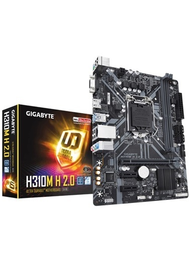 Gigabyte H310M H 2.0 Intel 1151Pin 2666Mhz Ddr4 Ma Renkli